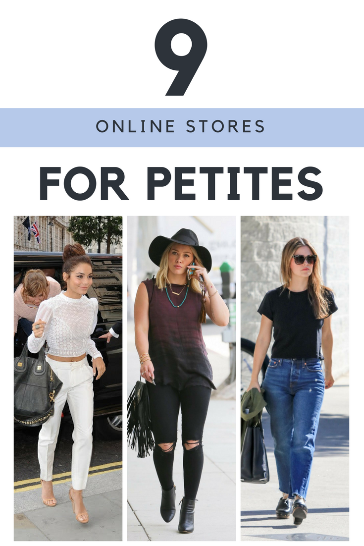 Petite online shops that I love. #shortgirlproblems
