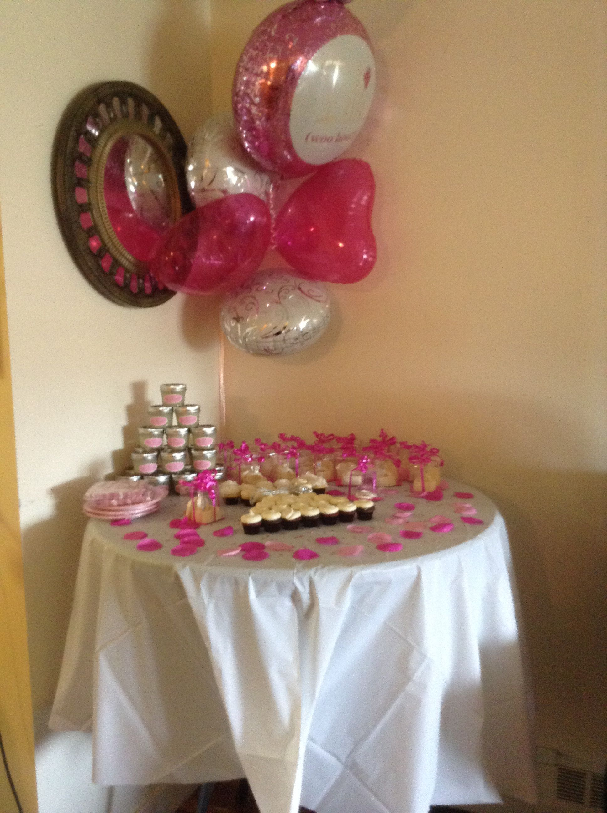 Cupcakes And Keepsakes Bridal Shower Birthday Candles Candles