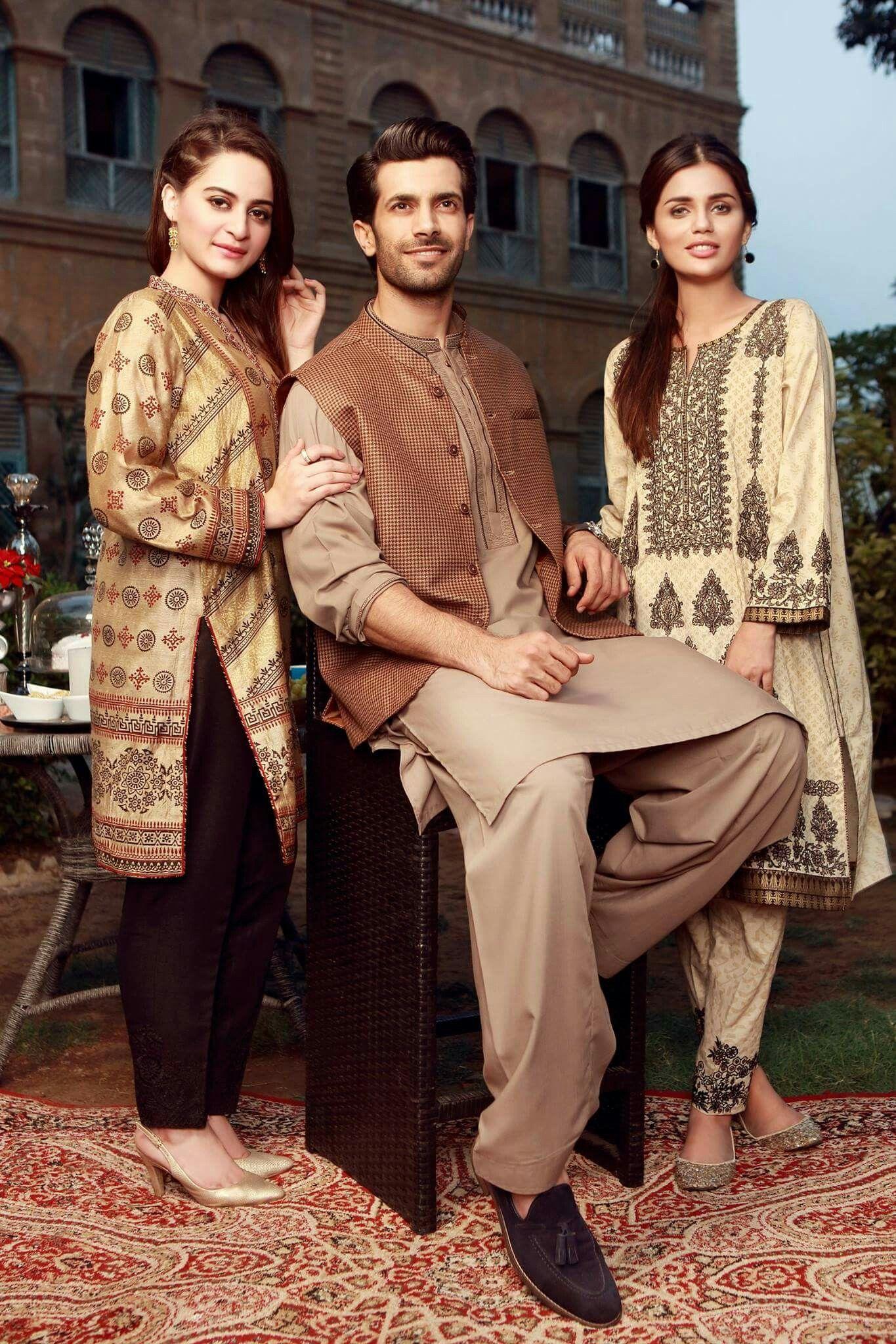Beautiful Aiman Khan, Shahzad Noor and Faiza Ashfaq Shoot of Eid Collection! #AimanKhan #Shahzad_Noor #FaizaAshfaq #Edenrobe #EidCollection17 #SummerCasual #PakistaniFashion #PakistaniCelebrities ✨
