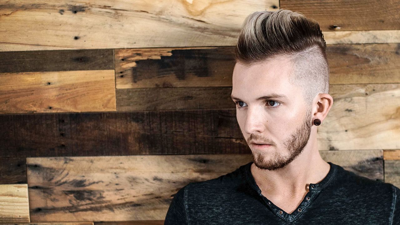 how to blow dry and style a pompadour - men's hairstyle