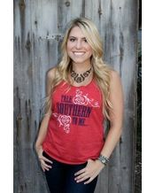 Nothing But Rodeo Women's Talk Southern To Me Tank