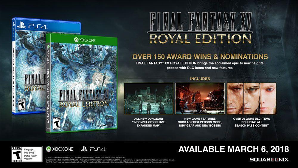 Final Fantasy Xv Ganha Data Para Lancamento Em Pc E Edicao Especial Final Fantasy Xv Final Fantasy Finais