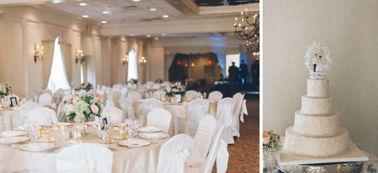 Wedding Reception Details For A Mayfair Farms Wedding In West Orange