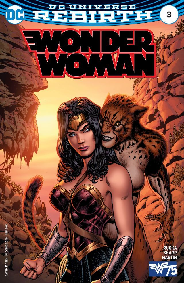 Wonder Woman (2016) #3 #DC @dccomics #WonderWoman (Cover Artist: Laura Martin…