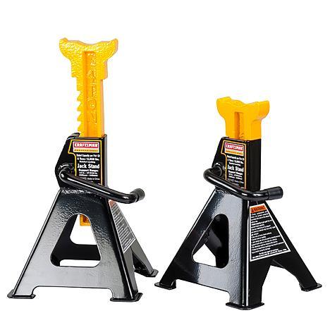 Craftsman 4 Ton Jack Stands Jack Stands Automotive Mechanic Garage Equipment