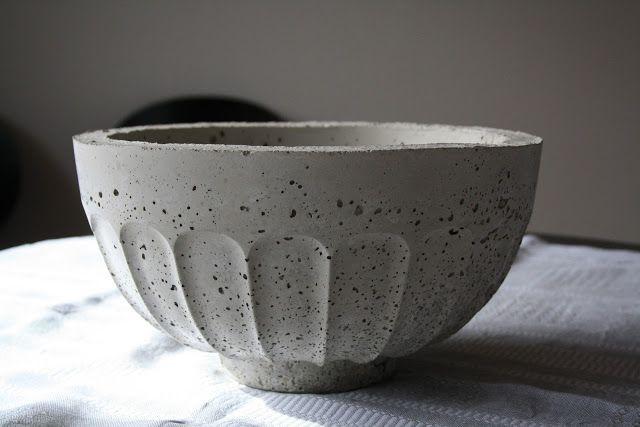 Concrete bowl | Betonnen schaal