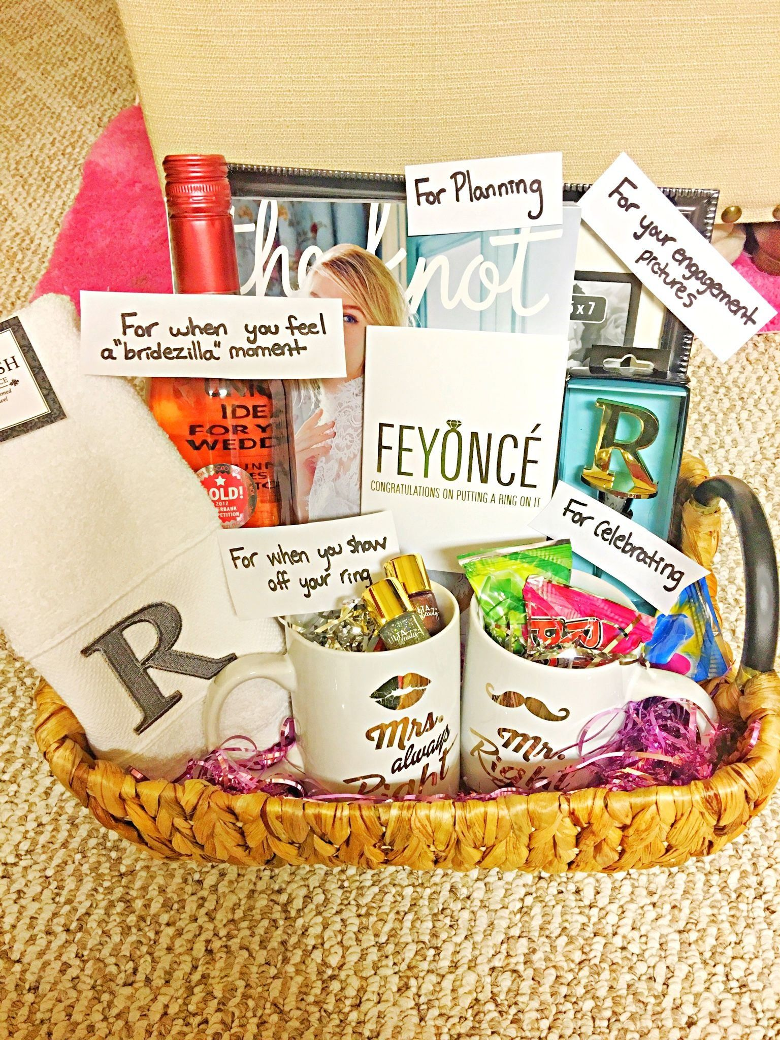 Diy gift basket for the future mrsbride to be this is a