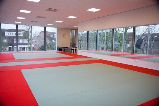 Very Modern But Very Cool Karate Dojo Martial Arts Gym Dojo Design