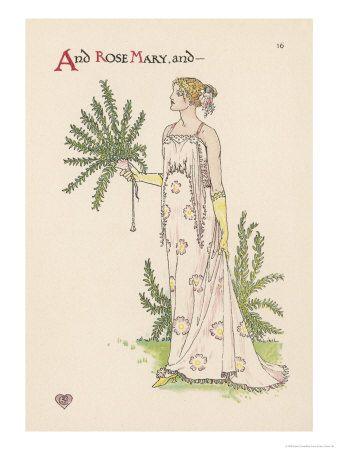Walter Crane - A Flower Wedding - no.16