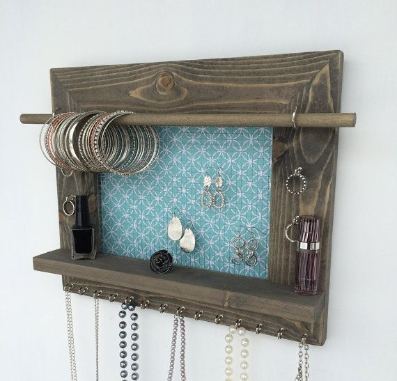Jewelry Storage FREE SHIPPING Wood Display Jewelry Organizer