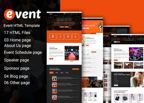 Event Html  Template Creativework  Website Design  Website