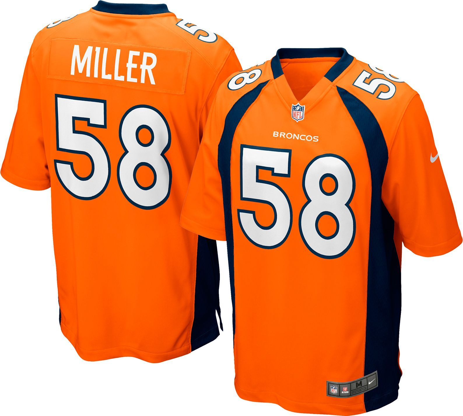 Nike Youth Home Game Jersey Denver Von Miller  58  866b8bd3d