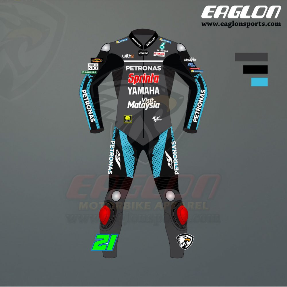 Shop Franco Morbidelli Yamaha Petronas Motogp 2020 Leather Suit Eaglon Sports In 2020 Yamaha Motogp Leather