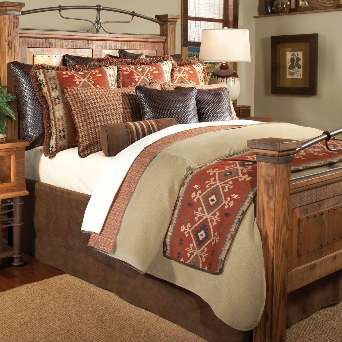 Southwest decor living room  Oro Valley Coverlet Set  Queen  Comforter Bed Sets  Pinterest