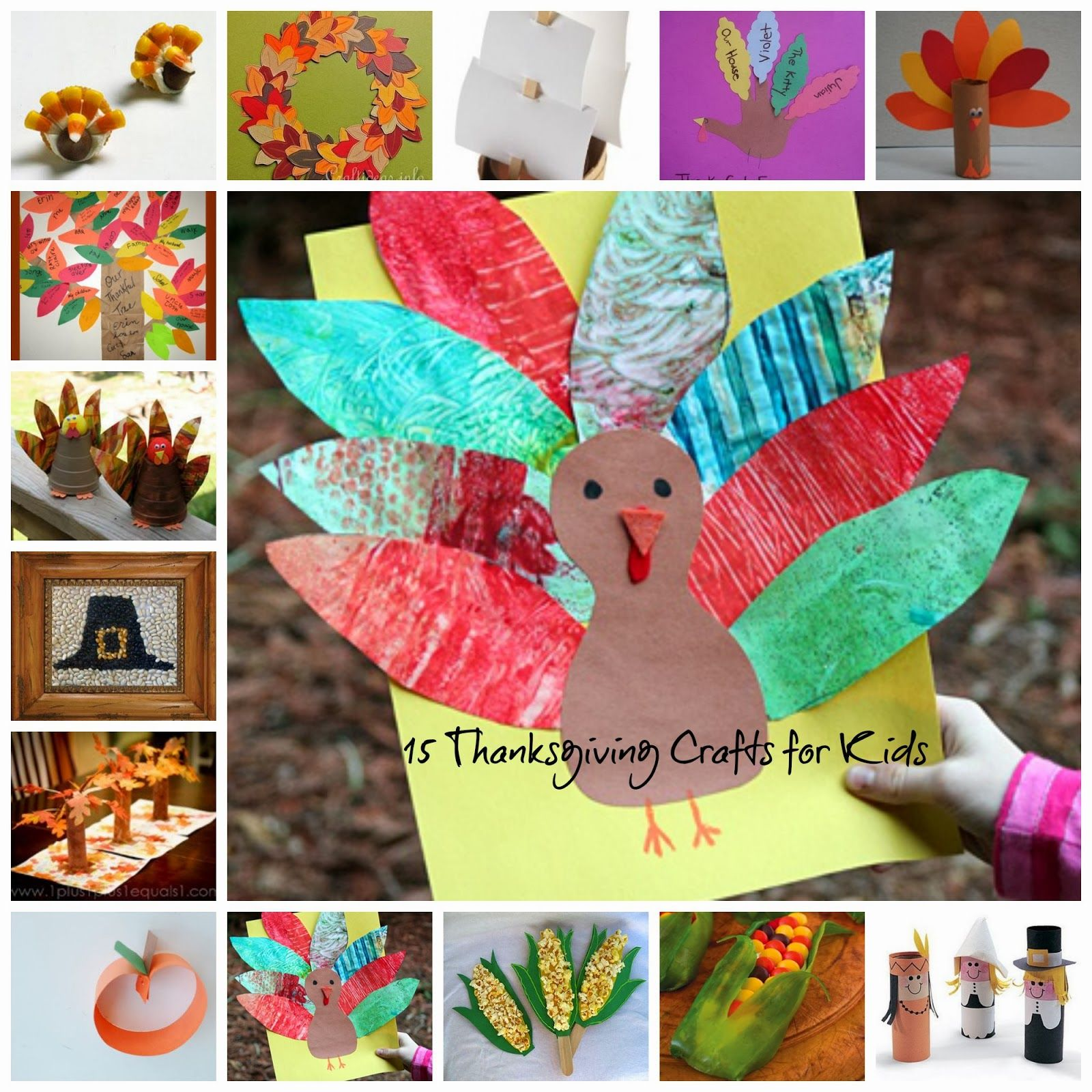 Share the love....  Thanksgiving is a fun time of year. Involving the kids in the preparations will help them to understand the meaning of Thanksgiving and that there is more to the holiday than just a ton of delicious food. I found a great collection of Kids Crafts for Thanksgiving to share with you. …