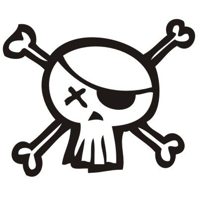 Silueta maquina figuritas t cucito sagome e stampabili - Pirata colorazione pirata stampabili ...