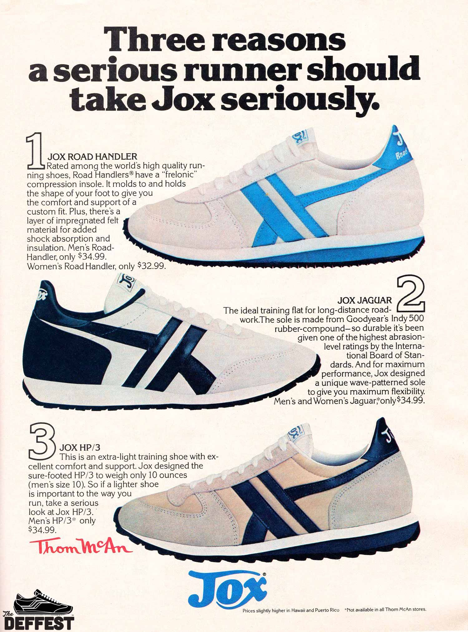 Bruce Jenner 1978 Vintage Running Shoes Sneakers Sz 10 10 5