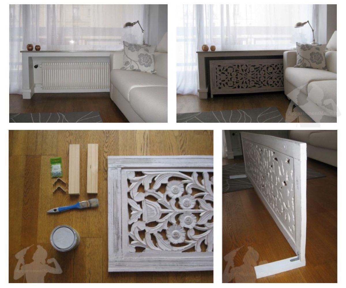 un panneau ajour des pieds fix s par des querres et le. Black Bedroom Furniture Sets. Home Design Ideas
