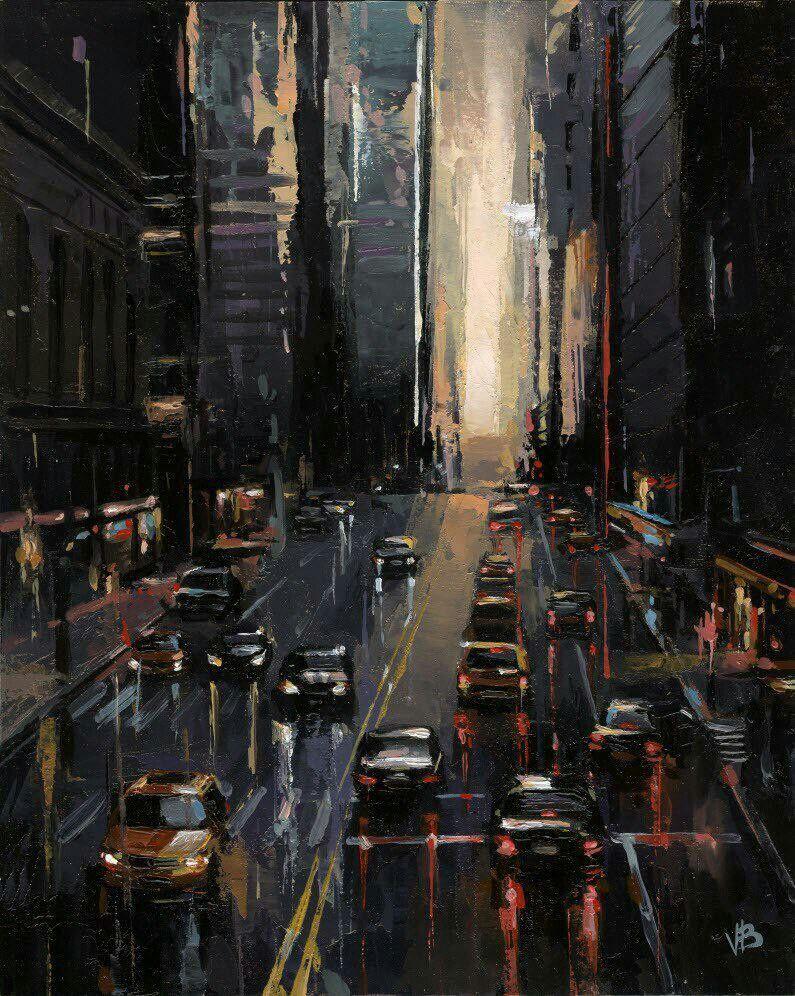 Pin By Megan Goemann On Artnice City Painting City Art Fine Art Painting Oil