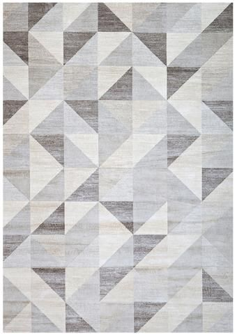 Silver Gray And White Modern Geometric Triangle Pattern Rug Patterned Carpet Textured Carpet Rug Pattern