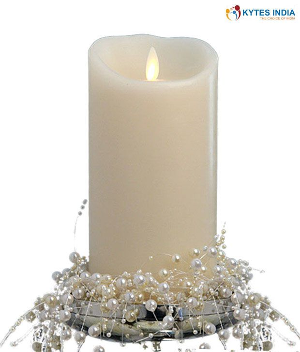 672654a41e6 KYTES INDIA LUMINARA LED WHITE CANDLE WITH SCENTED WAX Rs. 1125.00   ArtistryCollections (www.ArtistryC.in)  Online Multi- Brands Retail Shop  Best  Buy  Best ...