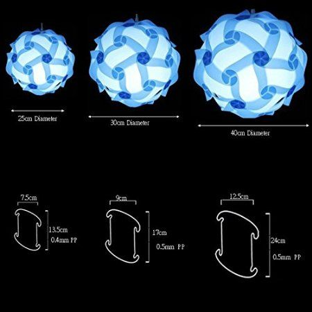 Robot Check Puzzle Lights Diy Pendant Origami Lamp