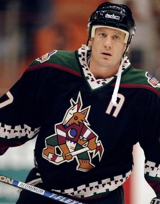 Jeremy Roenick of the Phoenix Coyotes  fab703a7e