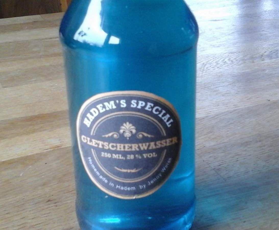 Gletscher Wasser Ohne Kleberei Rezept Likor Selber Machen