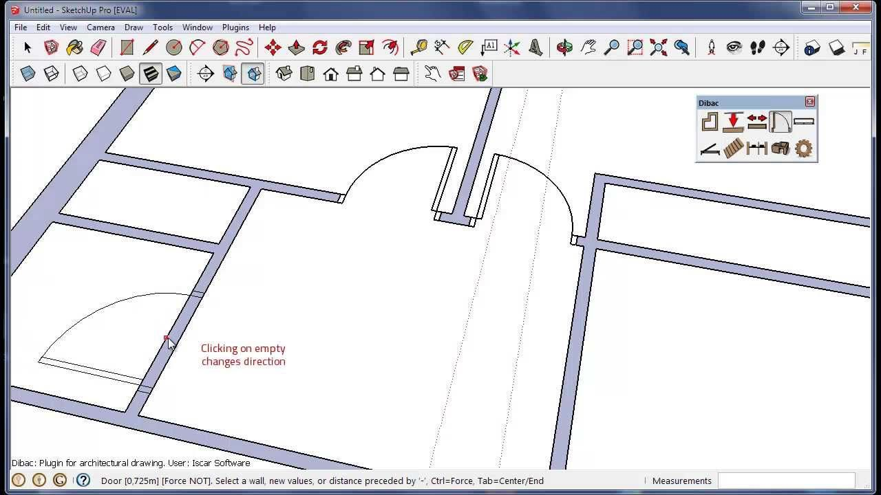 Dibac For Sketchup Architectural Plugin Sketch Up Architecture