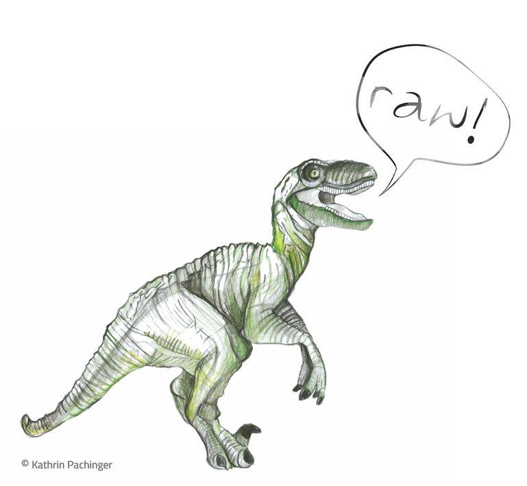 dino says raw