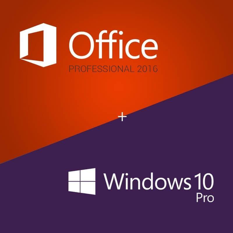 Kết quả hình ảnh cho windows 10 office 2016