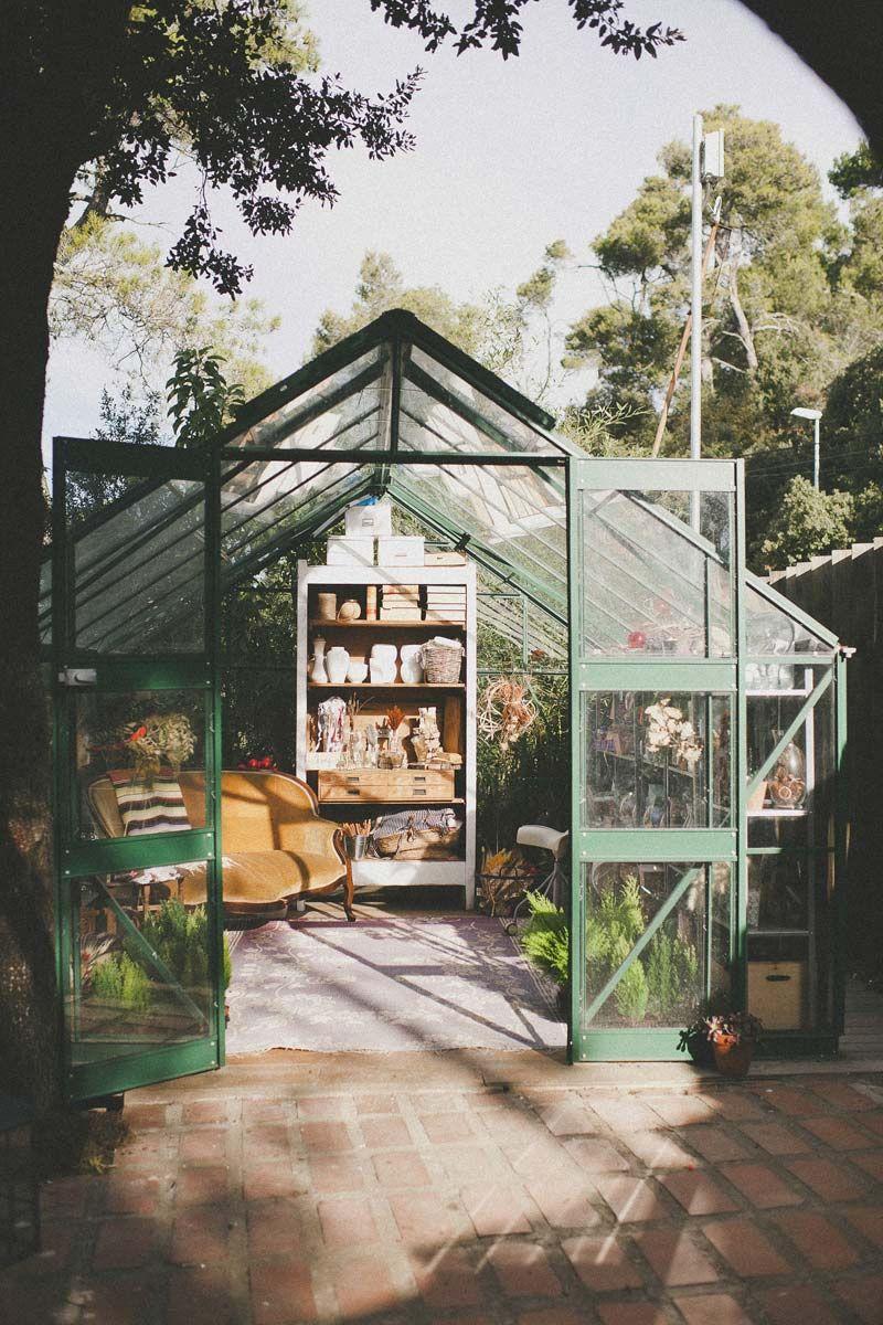 jardin atelier veranda garden brocante serre   Style Brocante ...
