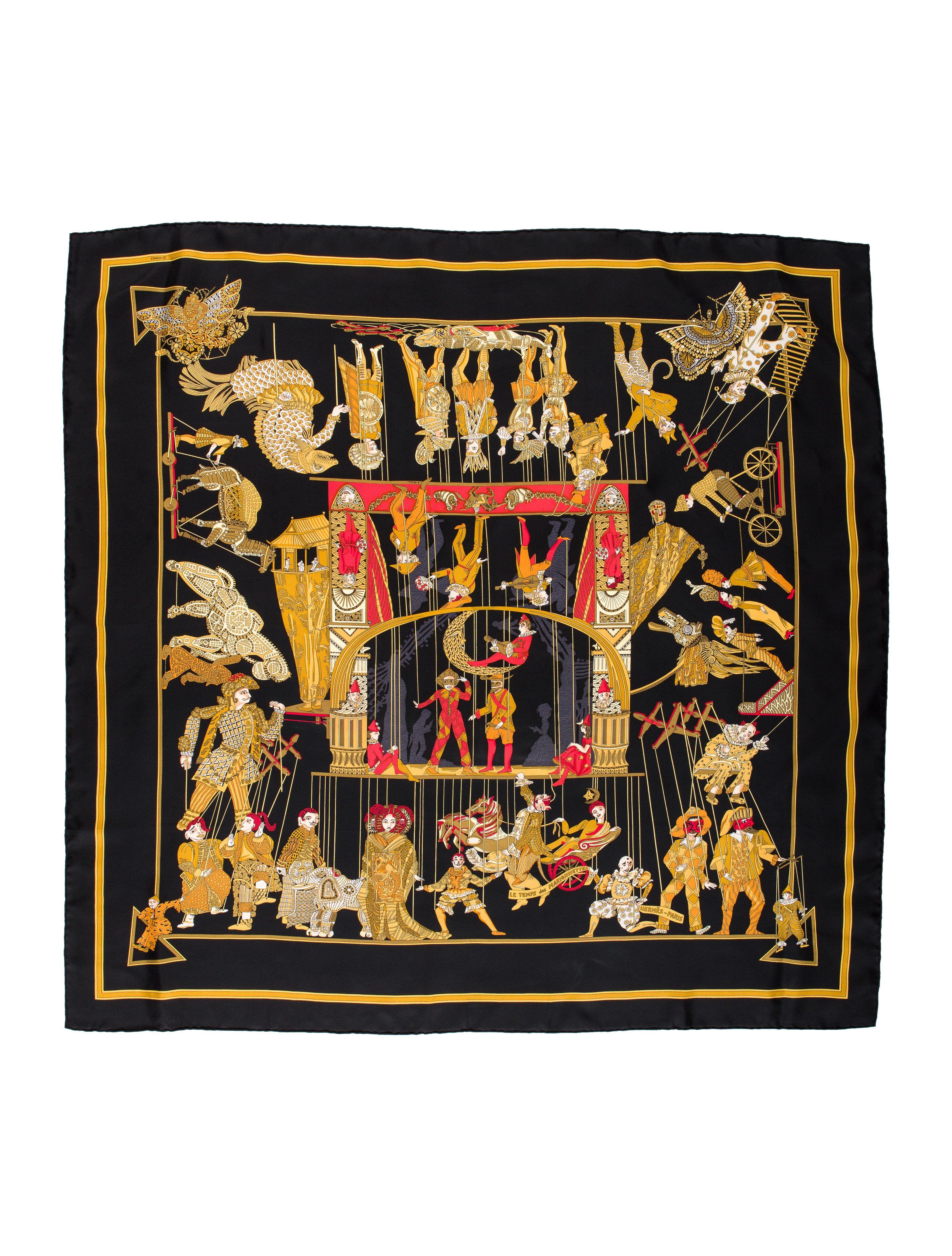 9d72374e4008 Hermès - Le Temps des Marionnettes   Carrés   Pinterest   Hermes ...