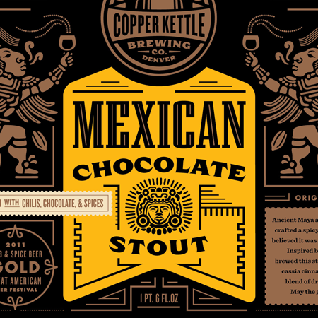Mexican Chocolate Stout Fonts In Use Mexican chocolate