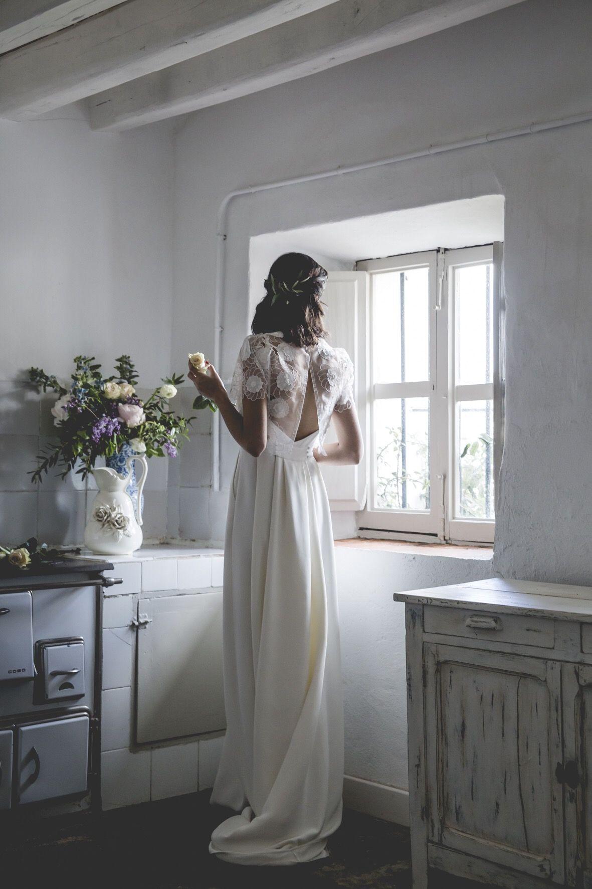 Vestido de novia.  Alejandra Svarc. Colección Mélancolie. Wedding dress.  Foto Patricia Semir.