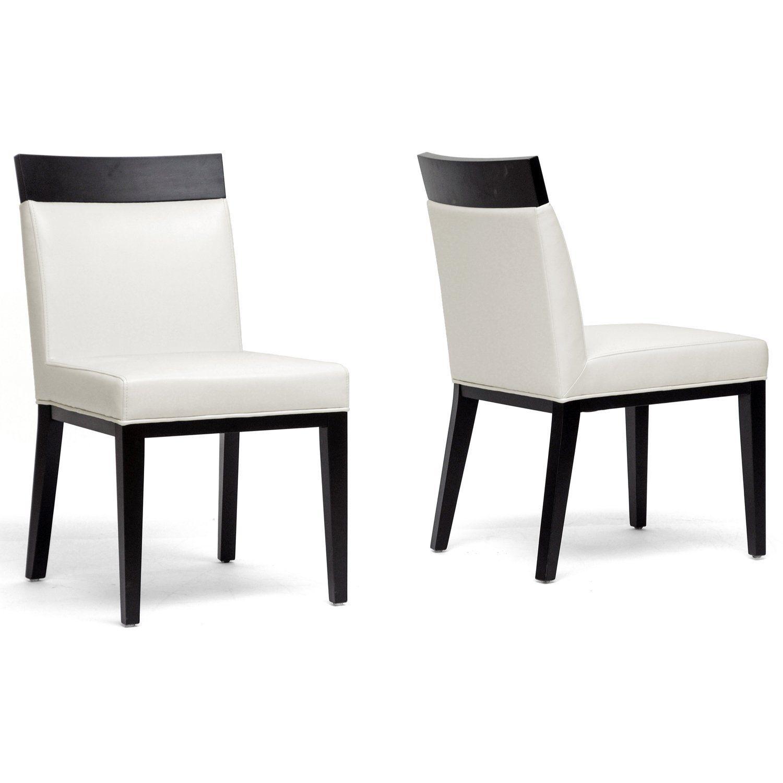 Schwarz Stuhl Weiße Leder Esszimmer StühleGrau jUzVLMSpqG