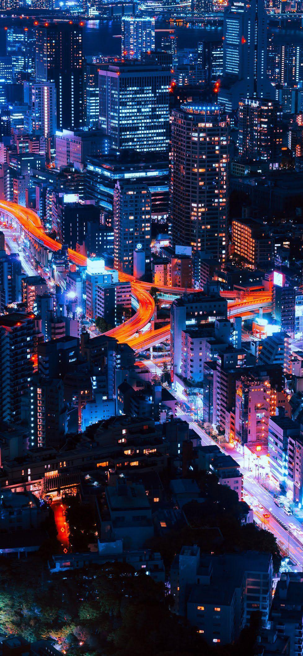 City Lights Stunning Wallpapers Hd Wallpaper Iphone City Wallpaper