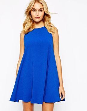 Enlarge Love Shift Dress with Cut Away Shoulder