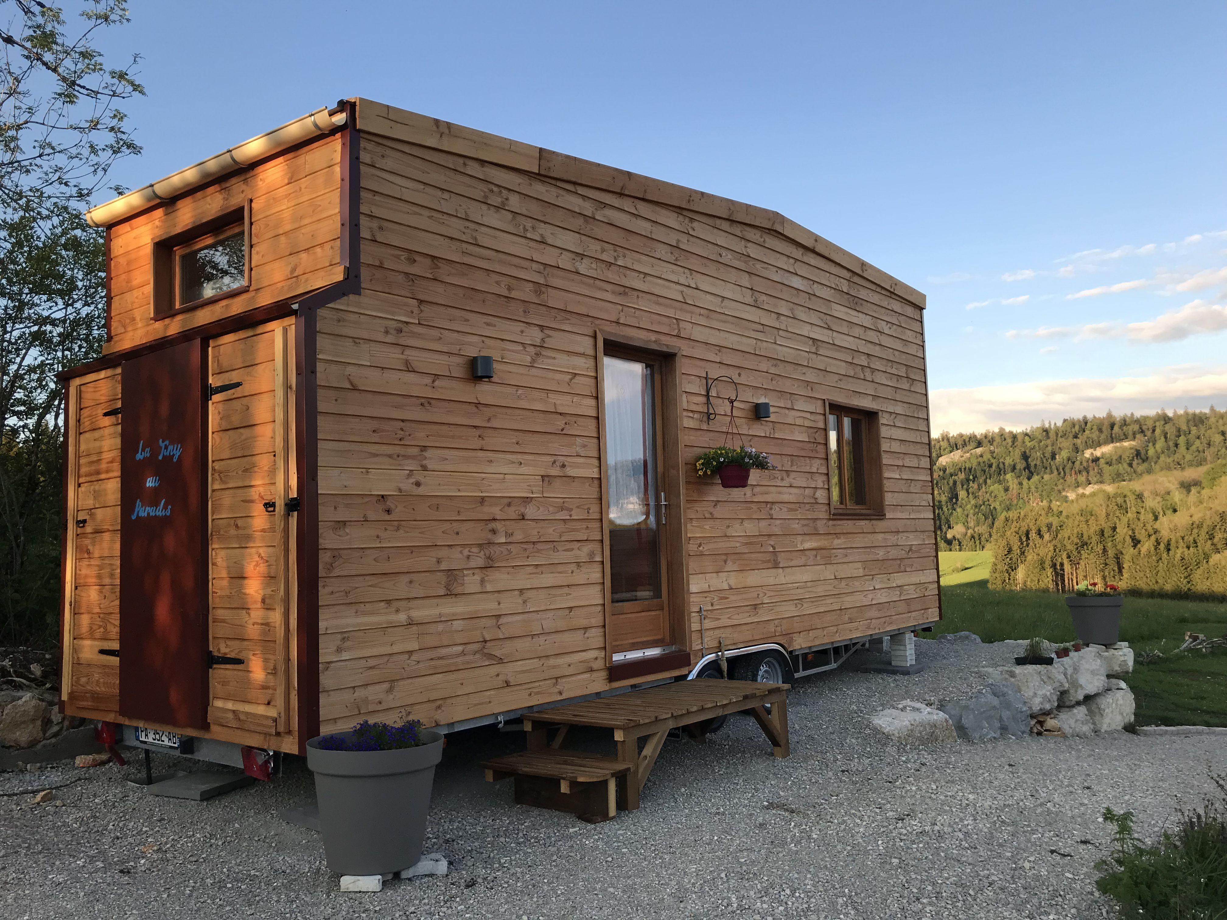 Het Splinternieuwe Tiny House Ligt Middenin Het Natuurpark