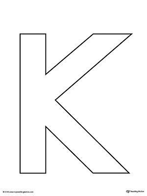 ... Uppercase Letter K Template Printable Letter Templates   Letter I  Template ...  Letter I Template