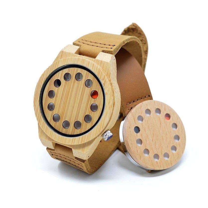 Reloj de pulso en madera, Mujer, marca Maguaco RM002