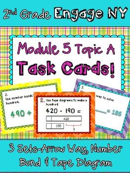 2nd grade engage new york module 5 topic a task cards scoot games 2nd grade engage new york module 5 topic a task cards scoot games arrow way pinterest number bonds recording sheets and center ideas ccuart Gallery