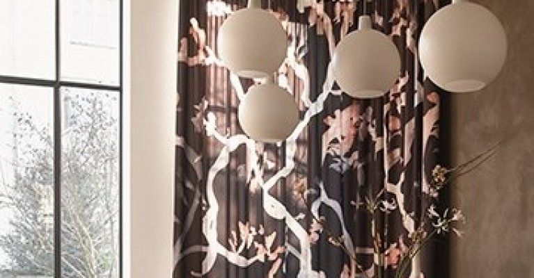 Grote Dessins Plafondverlichting Interieurtips Gordijnen
