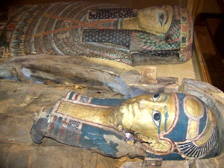 Wayne County has the only 2 permanent mummy displays in the entire state! Wayne County Historical museum & Joseph Moore Museum