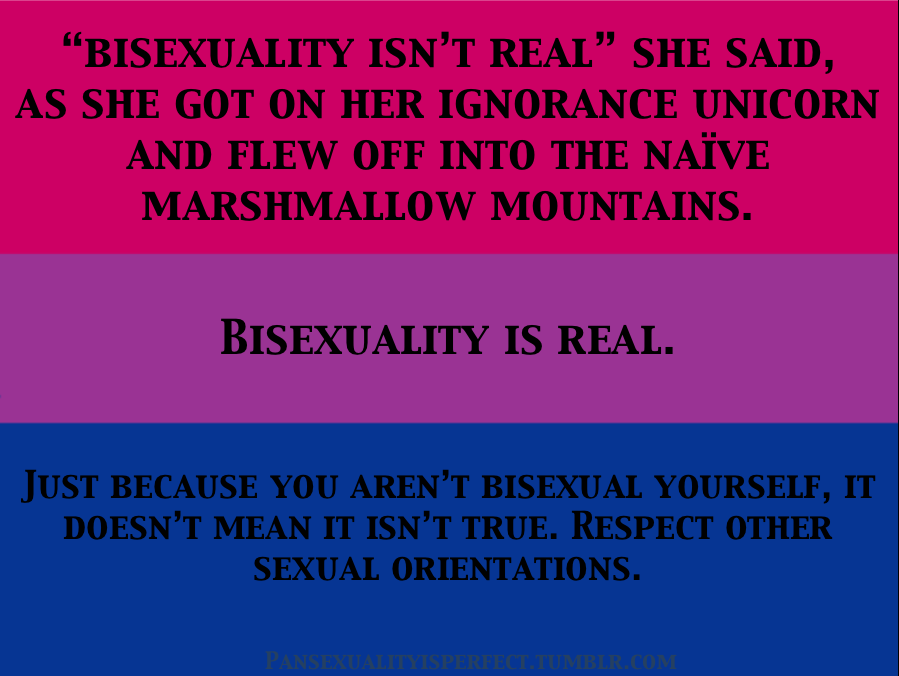 Bisexuality real