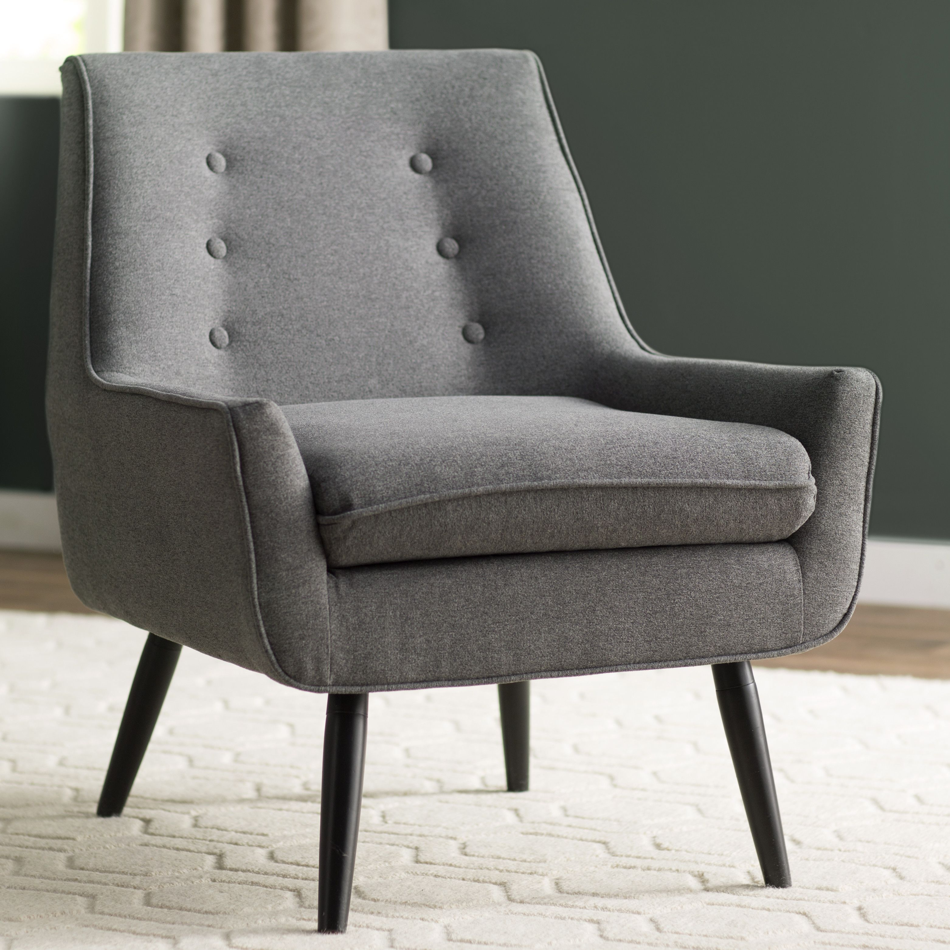 Contemporary furniture langley street eytel arm chair overall 32 25 h x 27 5 w