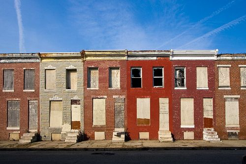 Abandoned Rowhouses Baltimore Md In 2019 Abandoned