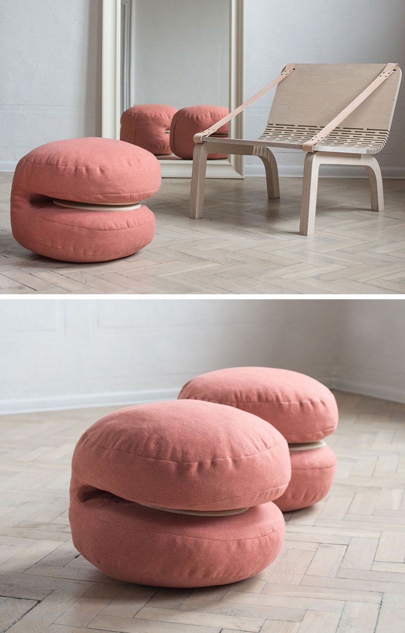 The Dango Armchair Has Cushions That Can Be Removed And Used As  # Kowal Muebles De Oficina