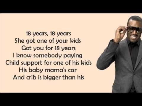 Kanye West Gold Digger Feat Jamie Foxx Lyrics Video Kanye West Gold Digger Classic Songs Gold Digger