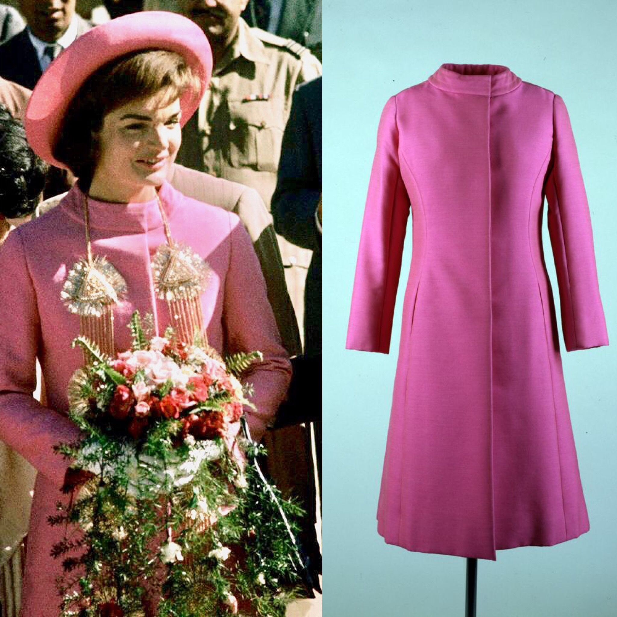 First Lady Jackie Kennedy arrives in New Delhi, India on March 12 ...